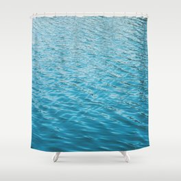 Echo Park Lake Shower Curtain