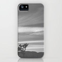 Joshua Tree Silhouettes iPhone Case
