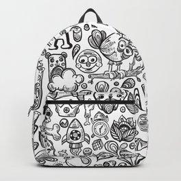 funny doodles Backpack