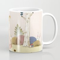 easter Mugs featuring Easter by Judith Loske