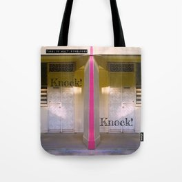 KNOCK KNOCK! Tote Bag