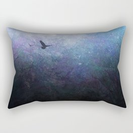 Flight of the Ravens Rectangular Pillow