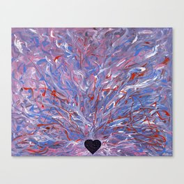 My heart only bleeds for you Canvas Print