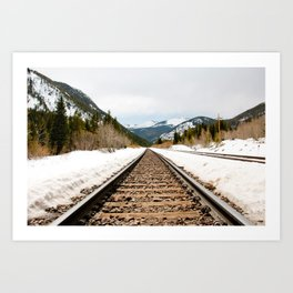 Colorado Railway Art Print