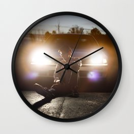 LONG LIVE THE RECKLESS Wall Clock