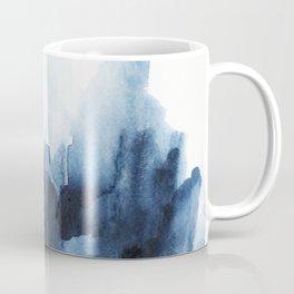 Indigo watercolor 2 Coffee Mug