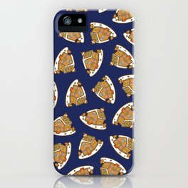 Gingerbread House Pattern - Christmas Eve iPhone Case