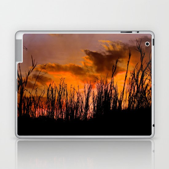 Fall's First Sunset Laptop & iPad Skin