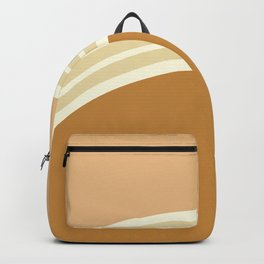 one day –earthen clay layers 2 Backpack