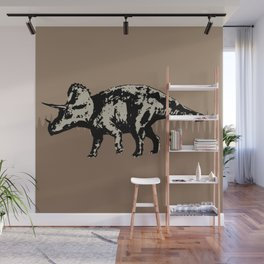 ChocoPaleo: Triceratops Wall Mural