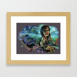 Texas Chainsaw Survivor Framed Art Print