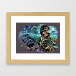 Texas Chainsaw Survivor Framed Art Print