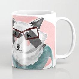 Office Racoon Coffee Mug