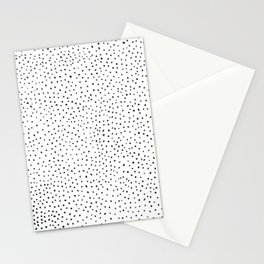 Dotted White & Black Stationery Cards