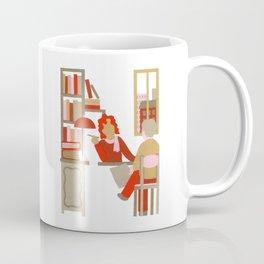 N as Notary Coffee Mug