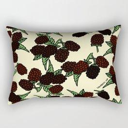 Blackberries! September! Rectangular Pillow