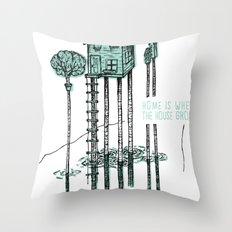 Home - ANALOG zine Throw Pillow