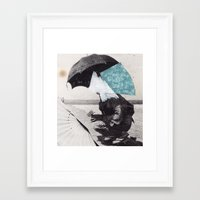 bow Framed Art Prints featuring bow by carleyrae weber