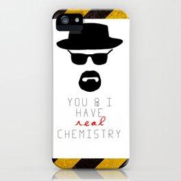 HEISENBERG BREAKING BAD Real Chemistry iPhone Case