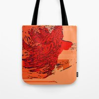 lion king Tote Bags featuring Lion King by Avigur