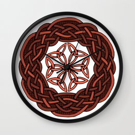 Celtic Knotwork Circle Wall Clock