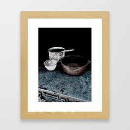 Haunted Cook Stove, Hell's Gate B.C. Framed Art Print