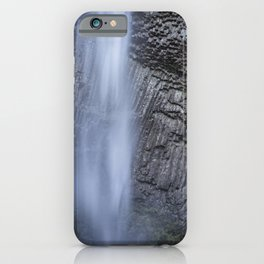 Water and Rock of Latourell Falls iPhone Case