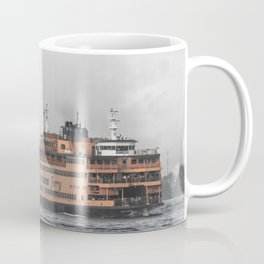 Liberty & The Boat Coffee Mug