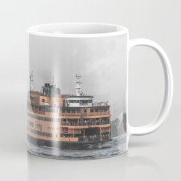 Liberty & The Boat Coffee Mug