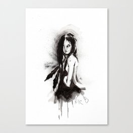 Tristes Armas (Sketch version) Canvas Print
