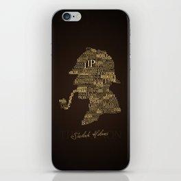 Sherlock Holmes The Canon iPhone Skin