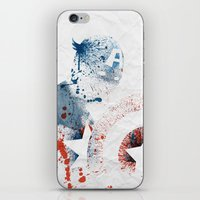 soldier iPhone & iPod Skins featuring The Soldier by Arian Noveir
