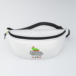 Christmas Physical Therapist, Elf squad Fanny Pack