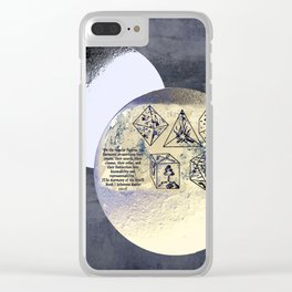 Kepler and his machinations Clear iPhone Case