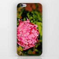 peony iPhone & iPod Skins featuring Peony by Svetlana Korneliuk