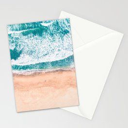 Faded ocean life Stationery Cards