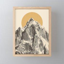 Mountainscape 5 Framed Mini Art Print