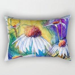 Cone Flowers by Maureen Donovan Rectangular Pillow