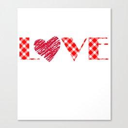 Valentinstag, love Valentine liebe Canvas Print