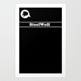 SteelWolf  Art Print