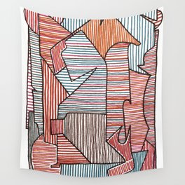 Bridget Riley Wall Tapestry