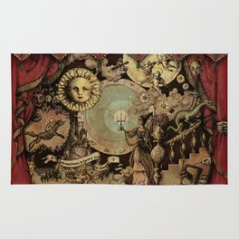 The mediaeval theater Rug