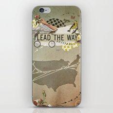 lead the way iPhone Skin