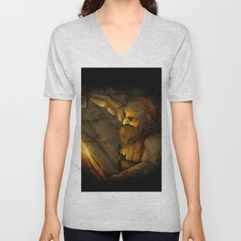 Dwarven Smith Unisex V-Neck