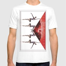 envelope bloody ballet Mens Fitted Tee SMALL White