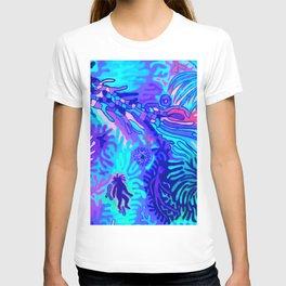 DANCE, uv light  T-shirt