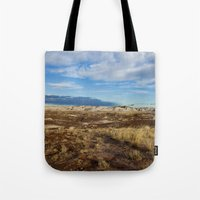 arizona Tote Bags featuring Arizona by Ian Bevington