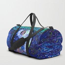 Tree of Life Yin Yang Earth Space Duffle Bag