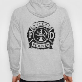 Fire Fighter Badge Hoody