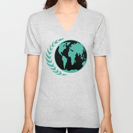 United Earth Government Unisex V-Neck